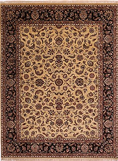 "Jaipur Yellow Hand Knotted 9'0"" X 12'0""  Area Rug 301-30719"