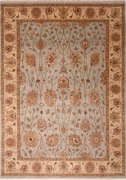 "Jaipur Blue Hand Knotted 8'9"" X 12'2""  Area Rug 301-30760"