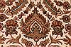 Jaipur White Hand Knotted 93 X 122  Area Rug 301-30784 Thumb 9