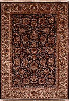"Jaipur Black Hand Knotted 10'0"" X 14'1""  Area Rug 301-30903"