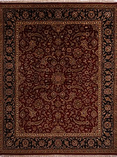 "Jaipur Red Hand Knotted 12'0"" X 15'0""  Area Rug 301-30947"