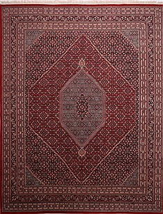 "Bidjar Red Hand Knotted 11'10"" X 15'0""  Area Rug 301-30968"