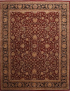 "Jaipur Red Hand Knotted 12'0"" X 15'0""  Area Rug 301-30981"