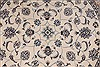 Nain Beige Round Hand Knotted 410 X 410  Area Rug 254-32025 Thumb 2