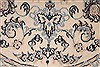 Nain Beige Round Hand Knotted 33 X 33  Area Rug 254-32029 Thumb 1