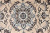 Nain Beige Round Hand Knotted 33 X 33  Area Rug 254-32029 Thumb 2