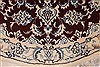 Nain Red Round Hand Knotted 35 X 35  Area Rug 254-32033 Thumb 4
