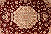 Tabriz Beige Hand Knotted 50 X 70  Area Rug 254-32048 Thumb 3