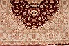 Tabriz Beige Hand Knotted 50 X 70  Area Rug 254-32048 Thumb 4