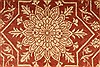 Qum Red Square Hand Knotted 33 X 33  Area Rug 254-49142 Thumb 1