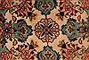 Tabriz Beige Hand Knotted 34 X 50  Area Rug 254-49145 Thumb 15
