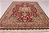 Tabriz Beige Hand Knotted 34 X 50  Area Rug 254-49145 Thumb 1