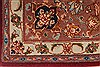 Tabriz Beige Hand Knotted 34 X 50  Area Rug 254-49145 Thumb 10