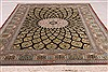 Qum Black Hand Knotted 33 X 50  Area Rug 254-49160 Thumb 1