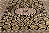 Qum Black Hand Knotted 33 X 50  Area Rug 254-49160 Thumb 2