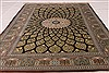 Qum Black Hand Knotted 33 X 50  Area Rug 254-49160 Thumb 3