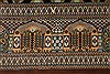 Qum Black Hand Knotted 33 X 50  Area Rug 254-49160 Thumb 4