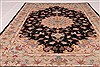Tabriz Beige Hand Knotted 30 X 50  Area Rug 254-50561 Thumb 3