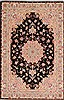 Tabriz Beige Hand Knotted 30 X 50  Area Rug 254-50561 Thumb 0