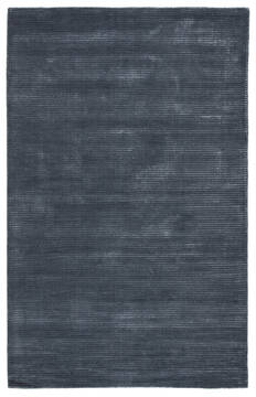 Jaipur Living Basis Blue Rectangle 8x10 ft Wool and Viscose Carpet 62997