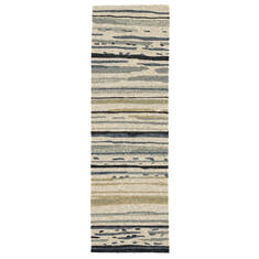 "Jaipur Living Colours Grey Runner 2'6"" X 8'0"" Area Rug RUG101284 803-63943"