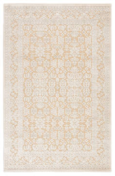 Jaipur Living Fables Beige Rectangle 9x12 ft Acrylic and Rayon and Polyester Carpet 64612