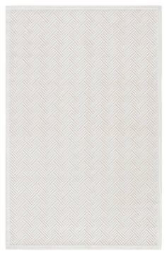 "Jaipur Living Fables White 5'0"" X 7'6"" Area Rug RUG108686 803-64686"