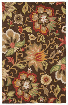 "Jaipur Living Hacienda Brown 3'6"" X 5'6"" Area Rug RUG111758 803-65125"