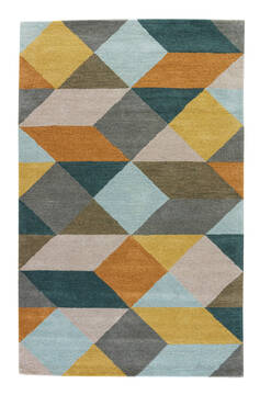 "Jaipur Living En Casa By Luli Sanchez Tufted Yellow 2'0"" X 3'0"" Area Rug RUG116794 803-65794"