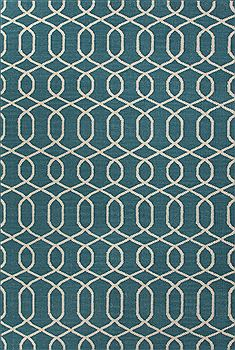 "Jaipur Living Urban Bungalow Blue 5'0"" X 8'0"" Area Rug RUG110361 803-68074"