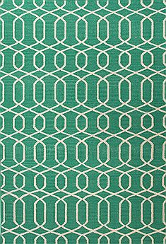 "Jaipur Living Urban Bungalow Green 5'0"" X 8'0"" Area Rug RUG111228 803-68112"