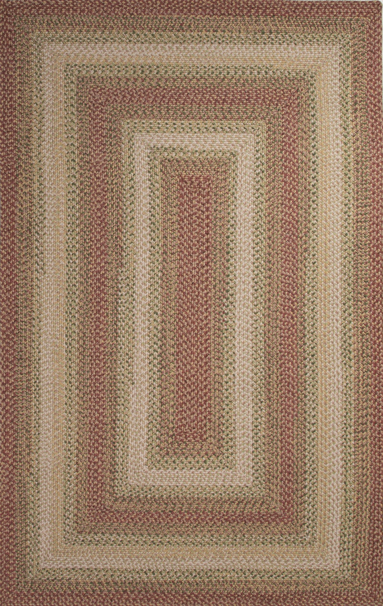 Jaipur Living Ultra Durable Braided Rugs Red Rectangle 8x10 Ft Viscose Carpet 68228