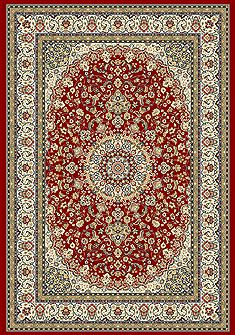 "Dynamic ANCIENT GARDEN Red Runner 2'2"" X 11'0"" Area Rug AN212571191414 801-68701"