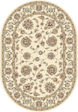 "Dynamic ANCIENT GARDEN Beige Oval 2'7"" X 4'7"" Area Rug ANOV35573656464 801-68797"