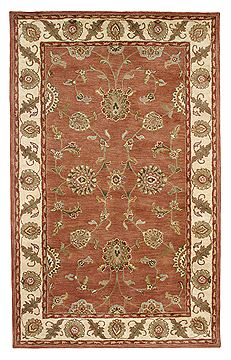 "Dynamic CHARISMA Red Runner 2'4"" X 8'0"" Area Rug CH281405200 801-69427"