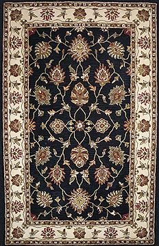 "Dynamic CHARISMA Black 6'7"" X 9'6"" Area Rug CH7101412190 801-69533"