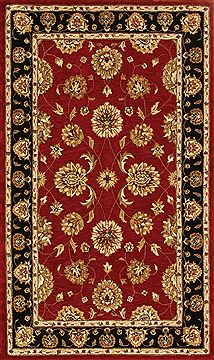 "Dynamic JEWEL Red Runner 2'2"" X 8'0"" Area Rug JW2870230339 801-70333"
