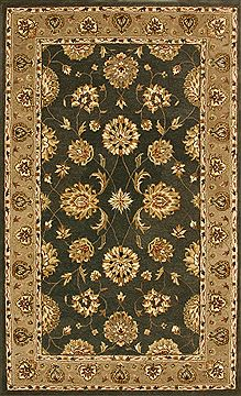 "Dynamic JEWEL Green Runner 2'2"" X 8'0"" Area Rug JW2870230444 801-70334"