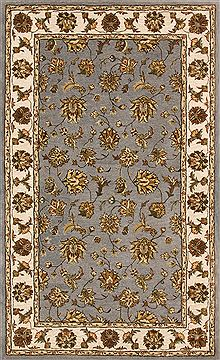 "Dynamic JEWEL Blue Runner 2'2"" X 8'0"" Area Rug JW2870231500 801-70335"