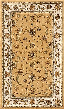 "Dynamic JEWEL Yellow 4'0"" X 6'0"" Area Rug JW4670113770 801-70338"