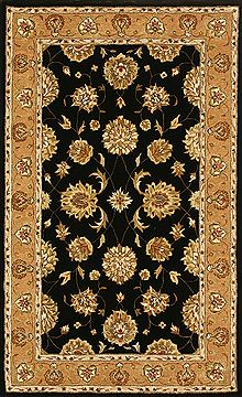 "Dynamic JEWEL Black 4'0"" X 6'0"" Area Rug JW4670230092 801-70340"