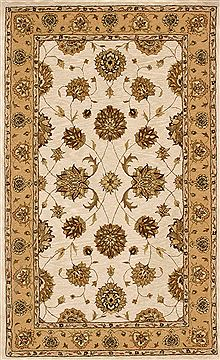"Dynamic JEWEL White 4'0"" X 6'0"" Area Rug JW4670230107 801-70341"
