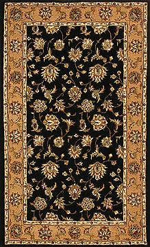 "Dynamic JEWEL Black 4'0"" X 6'0"" Area Rug JW4670231092 801-70345"