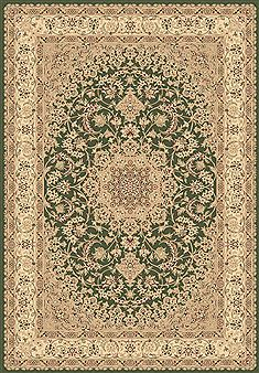 "Dynamic LEGACY Green Runner 2'2"" X 7'7"" Area Rug LE2858000420 801-70440"