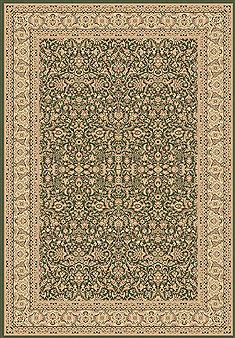 "Dynamic LEGACY Green Runner 2'2"" X 7'7"" Area Rug LE2858004420 801-70445"