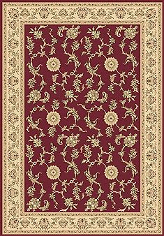 "Dynamic LEGACY Red Runner 2'2"" X 7'7"" Area Rug LE2858017330 801-70449"