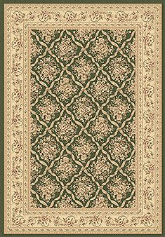 "Dynamic LEGACY Green Runner 2'2"" X 7'7"" Area Rug LE2858018440 801-70452"
