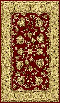 "Dynamic LEGACY Red Runner 2'2"" X 7'7"" Area Rug LE2858020330 801-70456"