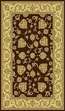 "Dynamic LEGACY Brown Runner 2'2"" X 7'7"" Area Rug LE2858020600 801-70457"