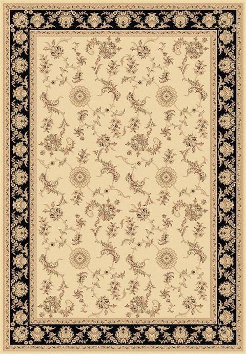 Dynamic Legacy White Rectangle 2x4 Ft Polypropylene Carpet
